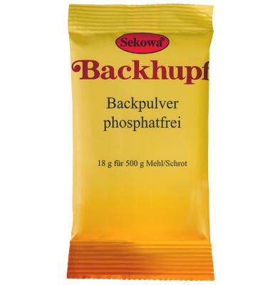 Sekowa® Backhupf-Backpulver phosphatfrei